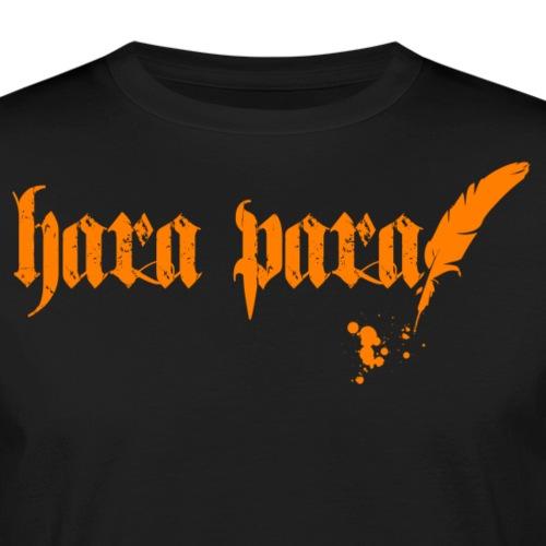 Hara Para orange - Männer Bio-T-Shirt