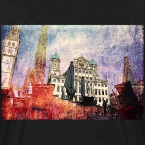 Augsburg Rathausplatz - Männer Bio-T-Shirt