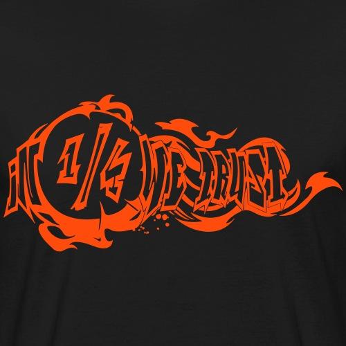 In 1/4 we trust - Männer Bio-T-Shirt