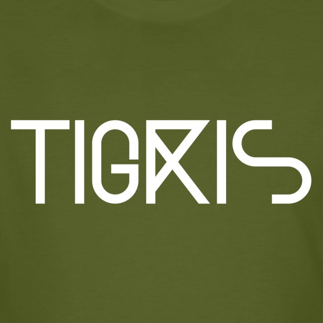 Tigris Vector Text White