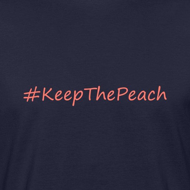 Hashtag KeepThePeach Corail