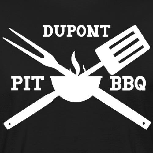 DuPont Pit BBQ - Men's Organic T-Shirt