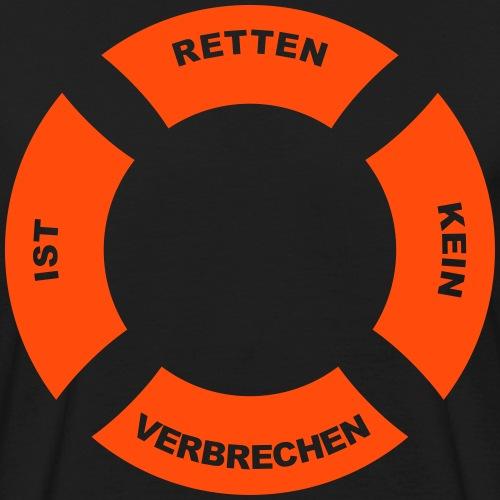 Rettungsring 2 - Männer Bio-T-Shirt