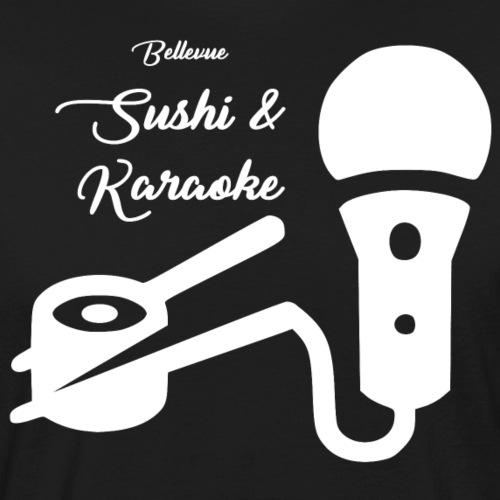 Bellevue Sushi & Karaoke - Men's Organic T-Shirt