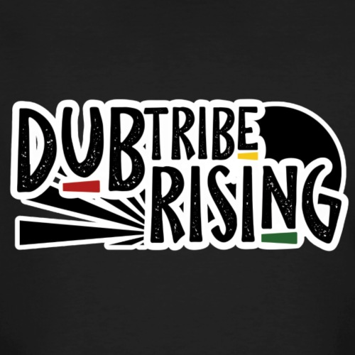Dub Tribe Rising - Logo - Männer Bio-T-Shirt