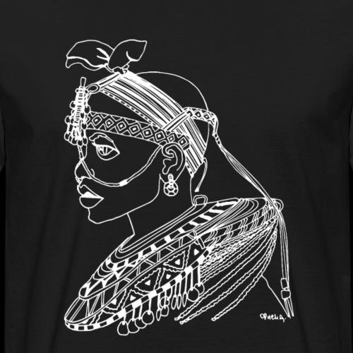 African Roots Negatif// N°1 - T-shirt bio Homme