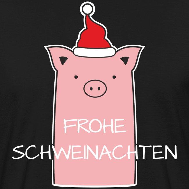 Bilder Weihnachten Lustig.Frohe Schweinachten Weihnachten Lustig Witzig Cool Männer Bio T Shirt