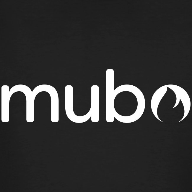 mubo logo Word White