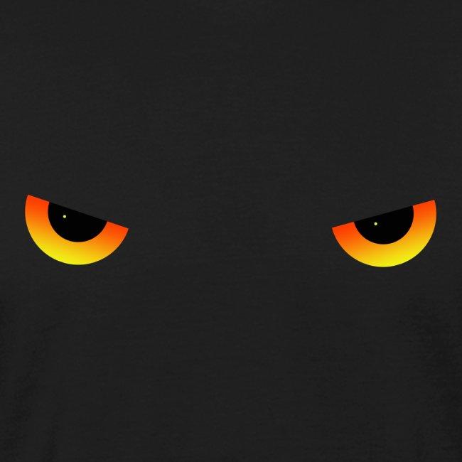Augen feurig