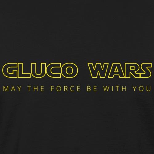 Gluco wars - T-shirt bio Homme