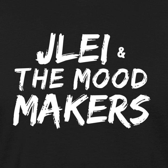 Jlei & The Mood Makers Schriftzug Weiss