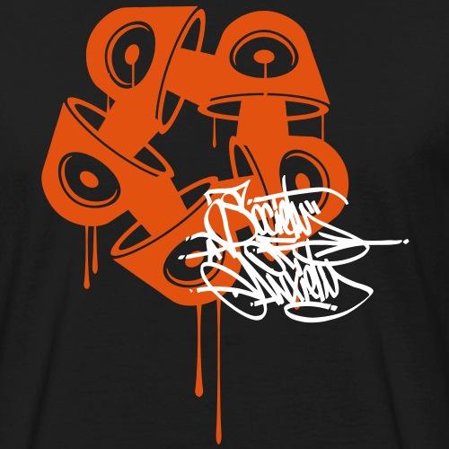 holograme logos2 - T-shirt bio Homme