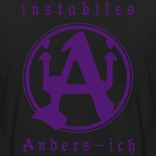 Instabiles Anders-Ich - Männer Bio-T-Shirt