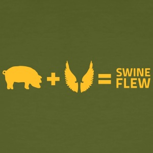 The Swine Flu - Men's Organic T-shirt