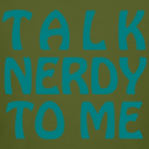 Talk Nerdy To Me - Vector - Men's Organic T-shirt