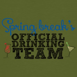 Spring Break Officiële Drinkende Team - Mannen Bio-T-shirt