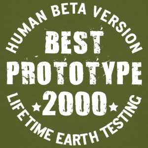 2000 - The birth year of legendary prototypes - Men's Organic T-shirt