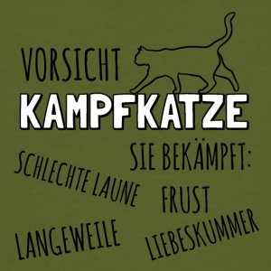 Caution Kampfkatze - Men's Organic T-shirt