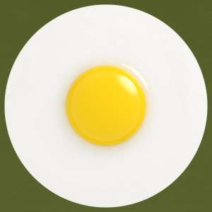 fried egg - Men's Organic T-shirt