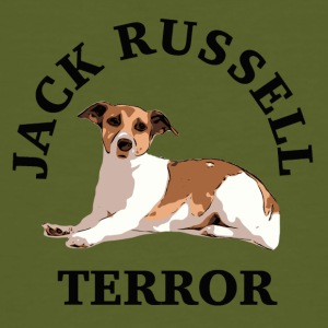Jack Russell terror3 - T-shirt bio Homme
