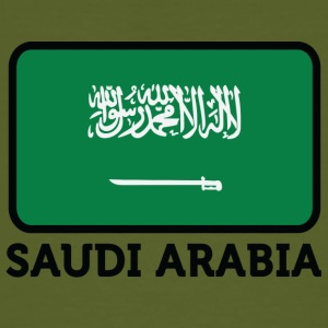 National Flag Of Saudi Arabia - Ekologisk T-shirt herr