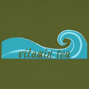 Surfer / Surfing: Vitamin Sea - Men's Organic T-shirt