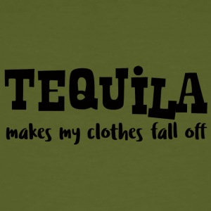 Spring Break / Springbreak: Tequila Makes My Cloth - Männer Bio-T-Shirt