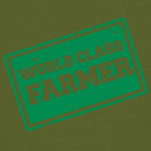Farmer / Farmer / Farmer: World Class Farmer - T-shirt ecologica da uomo