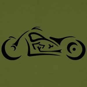 chopper moto - T-shirt bio Homme