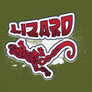 Cool tribal lizard - Men's Organic T-shirt