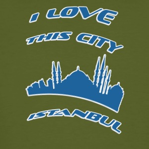 Istanbul I love this city - Men's Organic T-shirt