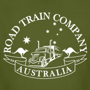Road Train - Mannen Bio-T-shirt