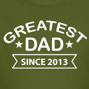 Greatest Dad sinds - Mannen Bio-T-shirt