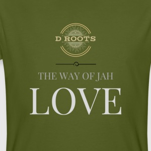 DRoots Way of Jah Love - Männer Bio-T-Shirt