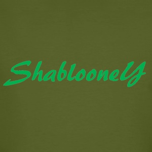 Shablooney Collection Uno - Männer Bio-T-Shirt