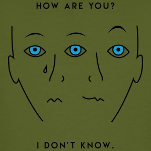 how are you? - Men's Organic T-shirt