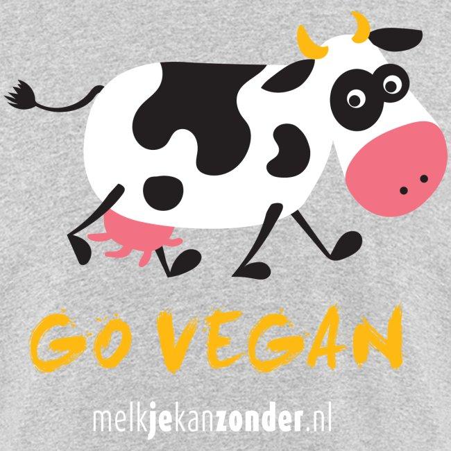 cartoon koe voor gekleurd