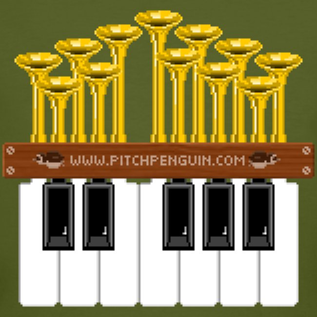 Pitch Penguin Pipe Organ