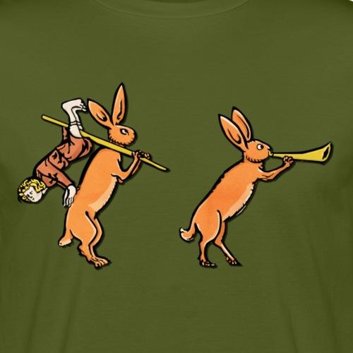 Medieval Marginalia Rabbit #1 - T-shirt bio Homme