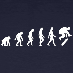 The Evolution Of Skateboarding - Men's Organic T-shirt