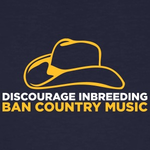 Ban Country Music! - Ekologisk T-shirt herr