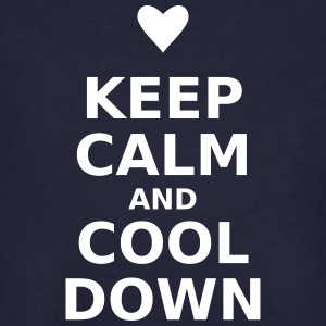Keep calm and cool down - Men's Organic T-shirt