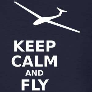 Keep calm and fly - Men's Organic T-shirt