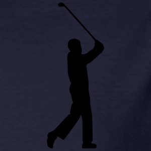 Golf player tee (vector illustration) - Men's Organic T-shirt