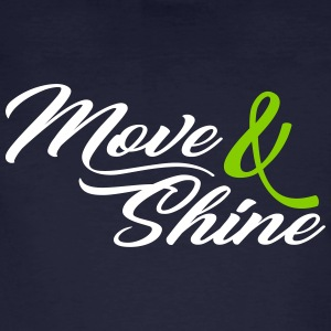 Move and Shine - Sportmotiv - Men's Organic T-shirt