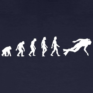The Evolution Of Scuba Diving - Men's Organic T-shirt