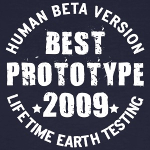 2009 - The birth year of legendary prototypes - Men's Organic T-shirt