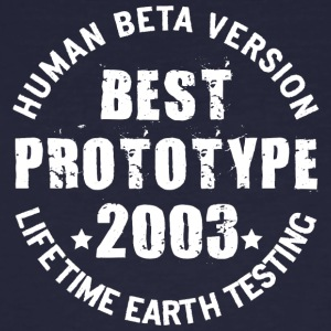 2003 - The birth year of legendary prototypes - Men's Organic T-shirt