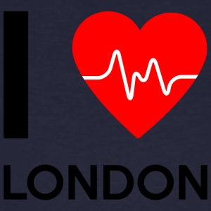 I Love London - I love London - Men's Organic T-shirt