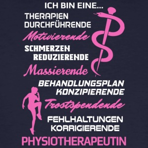 Physiotherapeutin/Physiotherapie/Physiotherapeut - Männer Bio-T-Shirt